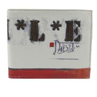 Diesel Men Wallet (100% Original / REAL) 現貨goods in stock X01013-PR795-H1532  白色 White
