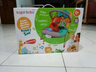 #maumothercare Bouncer sugar baby