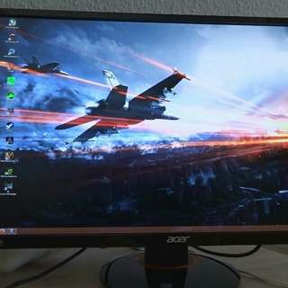 "Acer XB270HU 144hz IPS 2560 x 1440 27"" GSYNC gaming monitor"
