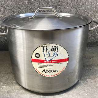Adcraft Induction Stock Pot 40qts