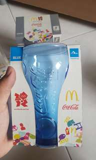 2012 London Olympics Coca Cola Promotional Glass Cup from McDonald's