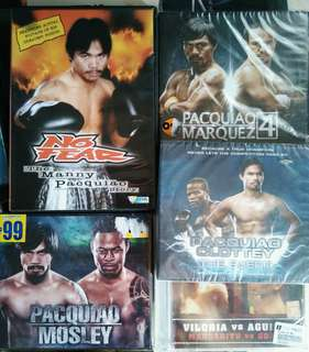 THE MANNY PACQUIAO COLLECTION