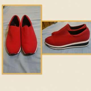 Rubber shoes