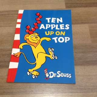 Dr Seuss Ten Apples Up On Top