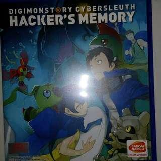 Digimonstory: Hacker's Memory