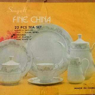 Tea Set Antik Made in China