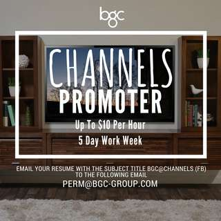 Channels Promoter (Up To $10 Per Hour)