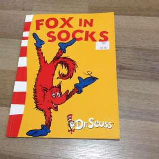 Dr Seuss Fox In Socks