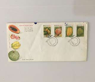Singapore FDC 1993 : Local Fruit