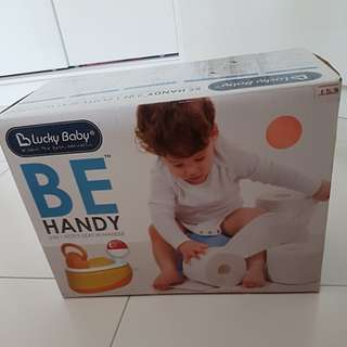 Brand new Lucky Baby 3 in 1 Potty Seat with handle