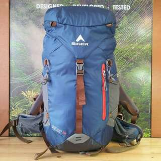 Tas gunung/kerir/ransel EIGER ARDOR SOLARIS 35L, New with tag, include raincover.. murah meriah!!!