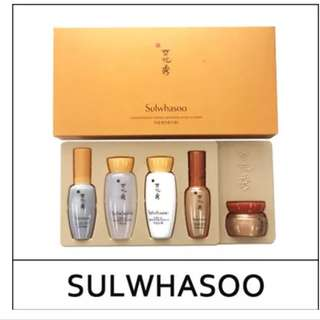 New!! Sulwhasoo Concentrated Ginseng Renewing EX Kit