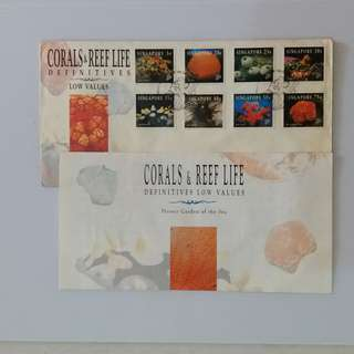 Singapore FDC 1994 : Coral & Reef Life