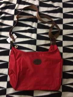 Longchamp Vintage Messenger Bag