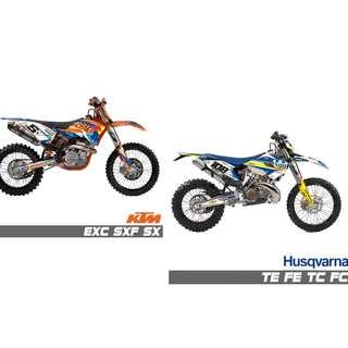 Motorbikes - Genuine 3M Bike Sticker Decals