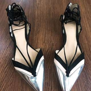 ZARA Woman Shoes - Balerina Flats Size 38