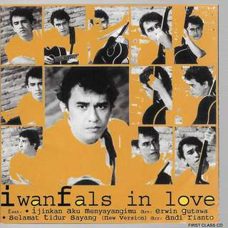 MY PRELOVED CD - IWAN FALS IN LOVE - INDONESIAN /FREE DELIVERY (F7F))