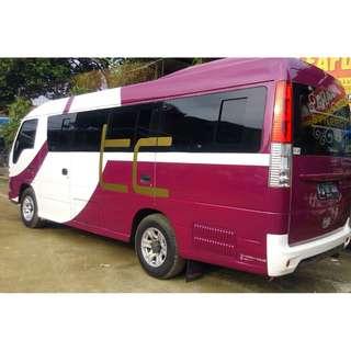 Rental mobil wisata ELF (16 - 18 seat) di Jakarta, murah dan berkualitas.