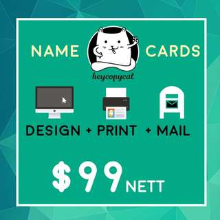 CHEAP PRINTING 3 IN 1 DEAL NAME CARD FLYER BROCHURE INVOICE