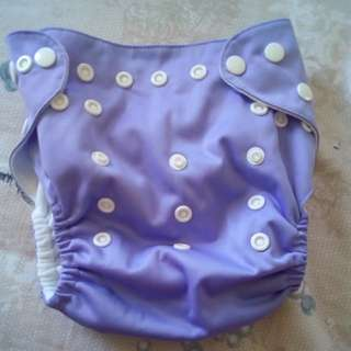 Cloth diaper(purple)