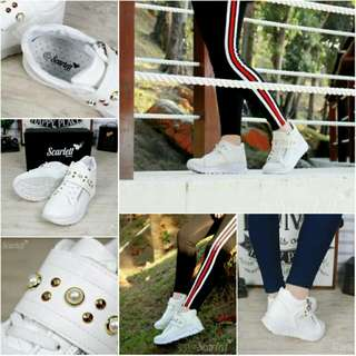 SC*RL*TT  Luxury Jullien Pearl Sneakers S50290  (18)*
