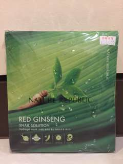 Nature Republic Snail Solution Red Ginseng