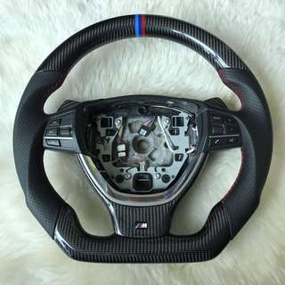 BMW Full set Carbon Steering Wheel with Gear Knob