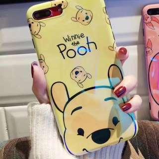 winnie the pooh 雷射藍光電話套