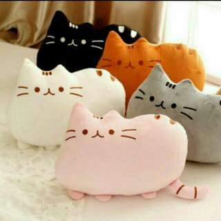 INSTOCK🔥Pusheen Cat Pillow 40cmx30cm