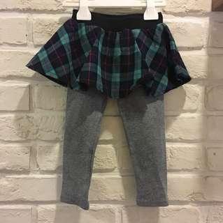 🚚 #5號 蘇格蘭風裙內搭褲