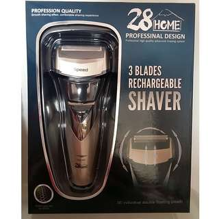 [New] 3-Blade Rechargeable Shaver 全防水3-D 智能剃鬚刀