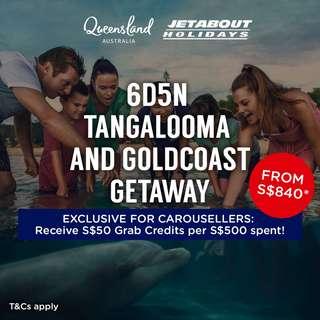 6D5N Tangalooma & Goldcoast Getaway