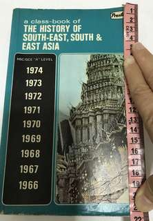 History South-east, South & East Asia