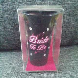 Bride-to-Be Shot Glass