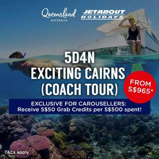 5D4N Exciting Cairns (Coach Tour)