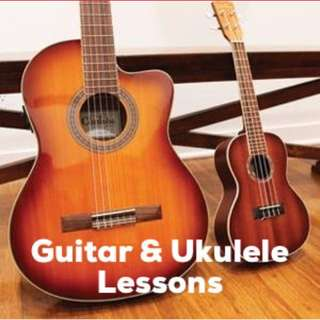 Private Music Lessons (Guitar / Ukulele)