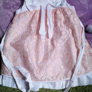 Baby pink Lace Dress