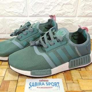 Sepatu Adidas NMD R-1 Green Mind
