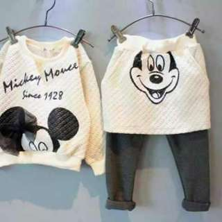 KIDS MICKEY TERNO