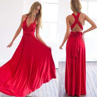 BH Maxi Long Dress
