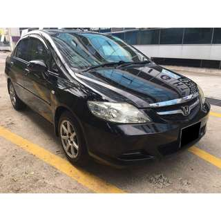 09/03-12/03/2018 HONDA CITY ONLY $180.00 ( P PLATE WELCOME)