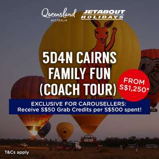 5D4N Cairns Family Fun (Coach Tour)