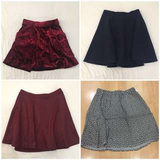 REPRICED SKIRTS!!