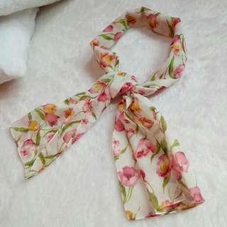SCARFT SYAL PINKY FLOWER