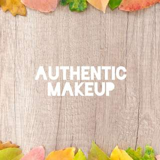 Authentic Makeups!
