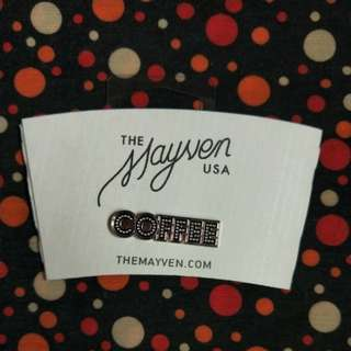 USA Mayven Coffee Cup Sleeve and Pin