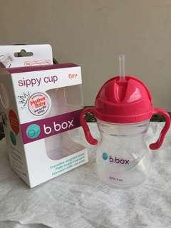 B.Box Award Winning Sippy Cup - Raspberry