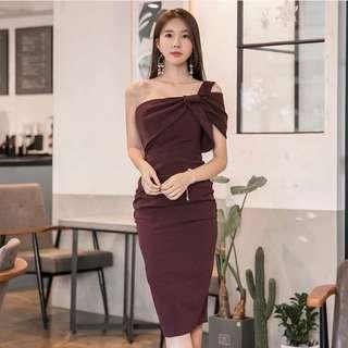 Toga Bodycon Midi Dress