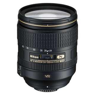 🚚 NEW Nikon 24-120mm f4 AFS G ED VR Lens