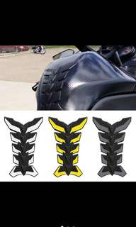 3D fishbone gas tank decals
